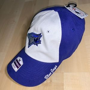 TORONTO BLUEJAYS Official Baseball Cap w/ sequins embroidered logo
